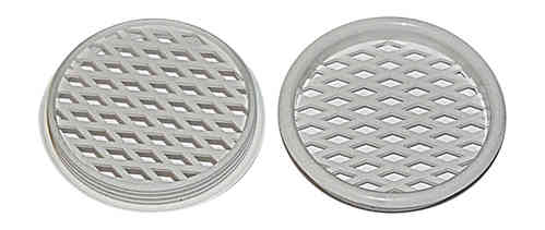 55mm Plastic Mesh Vent  Pair