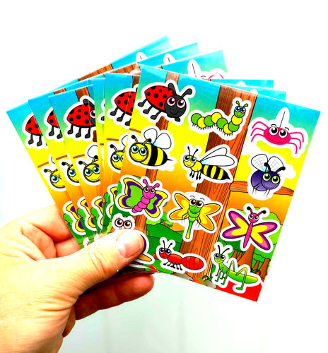 Insect Reward Stickers
