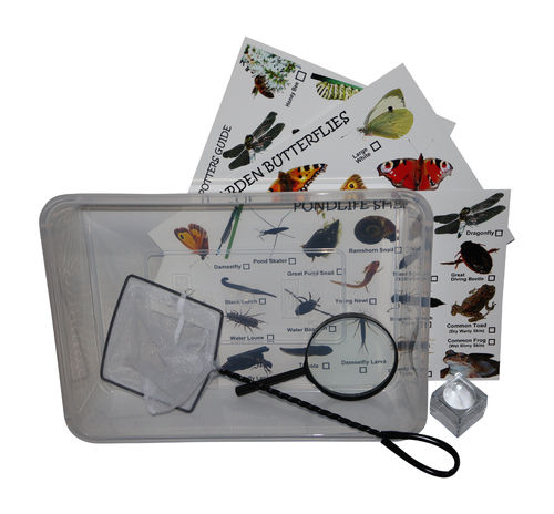 One Person Pond Dipping Bug Hunting Set